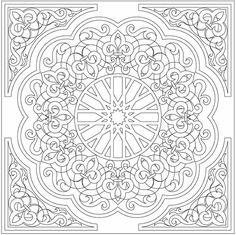 Mandalas - Coloring Pics - free Dover Sampler - Mama Mia - Picasa Web Albums