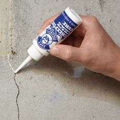 Creeping Crack Cure Waterproof Sealer (Set of 2) -$15.95- Seal up hairline cracks, stop leaks in their tracks Creeping Crack Cure® penetrates hairline cracks with a rapid capillary action that completely fills and covers the area to create a clear, waterproof seal. Put it to work on window casements, leaky roofs, brick walls, concrete walkways and boat decks—anything that can crack! Made of a water-based, acrylic co-polymer, it needs no mixing; just squeeze the tube. 2 fl. oz. Set of 2.