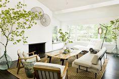 fireplace & window seat. Interior designer, Jessica Helgerson.