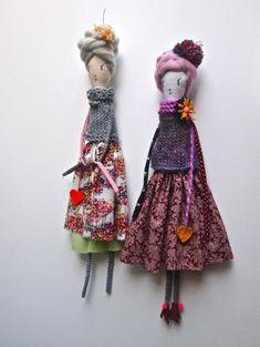 Sazzy dolls by Jess Quinn by tabu-sam