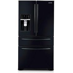 On sale now Samsung 31.0 cu. ft. French Door Refrigerator in Black-RF31FMEDBBC - TrackIf