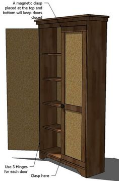 Ana White | Build a Simplest Armoire | Free and Easy DIY Project and Furniture Plans