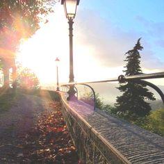 Sunset in Chianti, Tuscany Italy