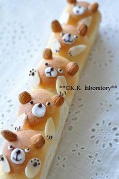 Beary Cute Sweet Bread <3 クマのちぎりパン|レシピブログ ♥ Dessert