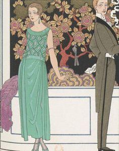 La première imprudence, robe du soir, de Beers, 1921