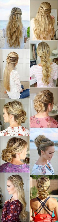 Long Wedding & Prom Hairstyles from Missysueblog ( http://missysue.com )  #wedding #weddingideas #fashion / http://www.deerpearlflowers.com/wedding-prom-hairstyles-for-long-hair/