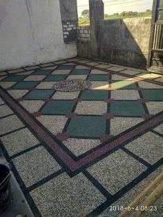 Granite Flooring, Semarang, Contemporary, Gazebo, Front Courtyard, Courtyards, Kiosk, Pavilion, Cabana