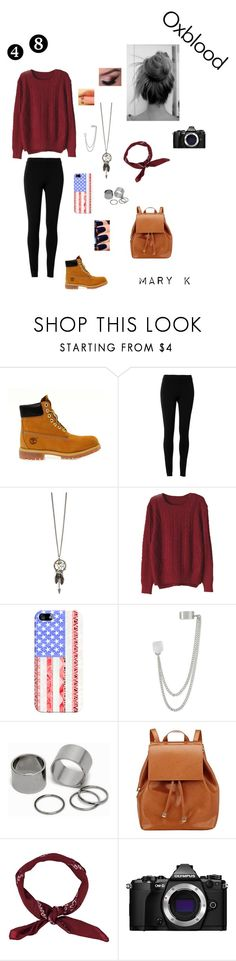 """#48 ♥"" by mary-pop ❤ liked on Polyvore featuring Timberland, Max Studio, Casetify, French Connection, Pieces, Barneys New York, BoohooMAN and Olympus"