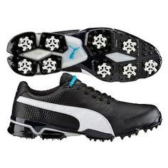 Puma TitanTour Ignite Golf Shoes Black-White SS16