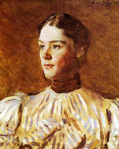 Cecilia Beaux self-portrait - Cecilia Beaux - Wikipedia, the free encyclopedia