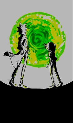 Rick y morty Cartoon Drawings, Cartoon Art, Rick Und Morty Tattoo, Dragonball Anime, Arte Pink Floyd, Rick And Morty Drawing, Rick I Morty, Ricky And Morty, Rick And Morty Poster
