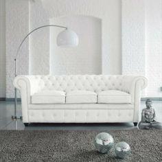 decorate with white CHESTERFIELD - Divani - Maisons du Monde
