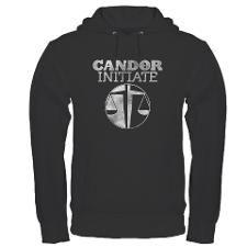 "DIvergent ""Candor Initiate"" Dark Hoodie"