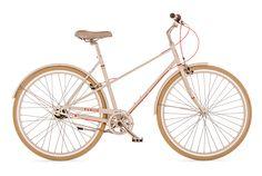 French Style Mixte Bikes; Town Bikes in Mixte French Frame