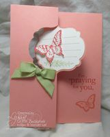 Two quick Thinlets Cards - Song of My Heart Stampers