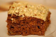 Dyniowe ciasto z imbirem i polewą z białej czekolady Krispie Treats, Rice Krispies, Food, Essen, Meals, Rice Krispie Treats, Yemek, Eten