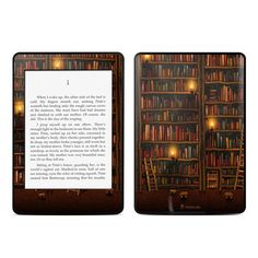 Amazon.com: Kindle Paperwhite Skin Kit/Decal - Library - Vlad Studio: Kindle Store