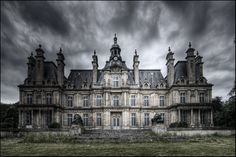 The Castle of Franconville near Saint-Martin-du Tertre, France, built just a half century ago.