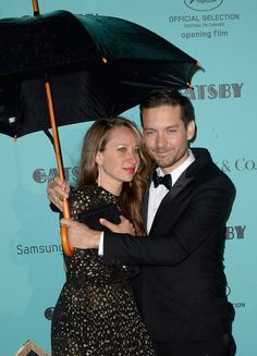 Pin for Later: L'Amour! The Hottest Cannes Couples Past and Present Tobey Maguire and Jennifer Meyer in 2013