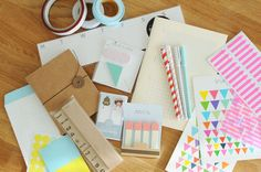 Journaling & Scrapbooking accessories   KOREAN STATIONERY BOX GIVEAWAY