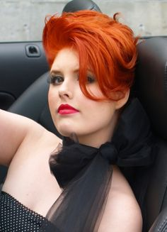 Hot Rod Red Added by Maureen MacLeod to BTC Community... get her Joico formula-see her work! #MaureenMacLeod