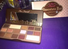 Too Faced Chocolate Bar palette for 29$ And review!!