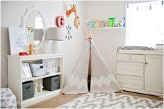 fund modern tribal themed nursery...