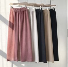 Trousers Women, Pants For Women, Clothes For Women, Ladies Pants, Fashion Pants, Fashion Outfits, Straight Trousers, Wide Leg Linen Pants, Clothing Photography