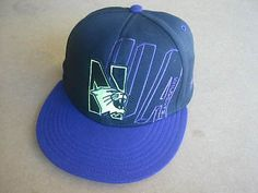 BRAND NEW BLACK NORTHWESTERN WILDCATS FLAT BILL UNDER ARMOUR HAT CAP ADJUSTABLE