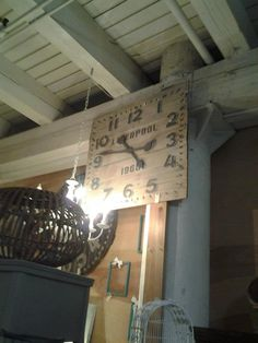 Liverpool 3 ft custom giant pallet clock  http://www.facebook.com/2ndEssence