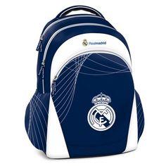 5e22fe5d6 EXCLUSIV* Real Madrid Mochila Escolar Mochila Grande Ronaldo Mochila Sport  ergonomica azul
