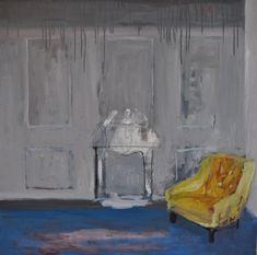 Żółty fotel Painting, Art, Art Background, Painting Art, Kunst, Paintings, Performing Arts, Painted Canvas, Drawings