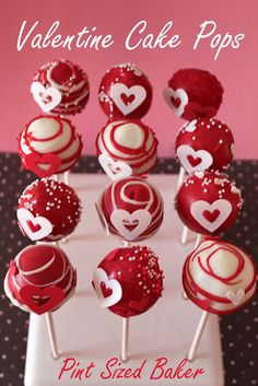 Pint Sized Baker: My Valentine Treats how to