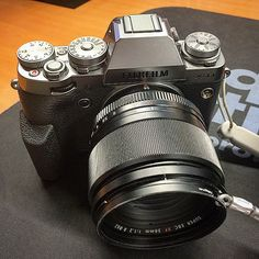 New Firmware Version 4.0 Now Available for the #Fujifilm #XT1! (Graphite XT-1 shown with the Fuji XF56mm f/1.2)