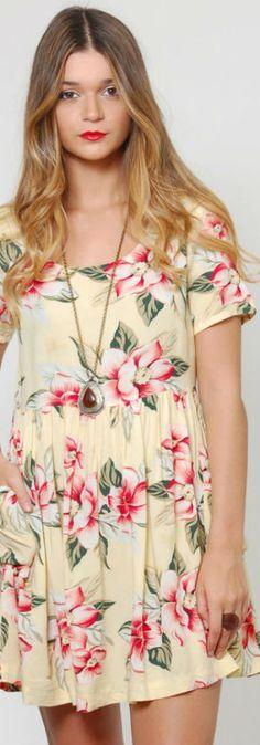 Floral BABYDOLL Sundress