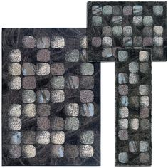cool Nourison 'Cobble Stone' Collection Casual Charcoal Rugs (Set of 3) Check more at http://yorugs.com/product/nourison-cobble-stone-collection-casual-charcoal-rugs-set-of-3/