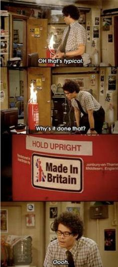 The IT Crowd - too bad it ended