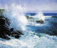 The Sea View of Cliffs Guy Orlando Rose by BoFransson, via Flickr