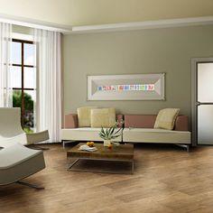 O piso vinílico é prático para instalar, fácil de limpar e tem uma boa absorção ao impacto! #Prod19613