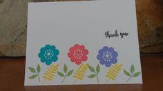 Thank You Cards (Set of 5) by ArtByAdetta on Etsy