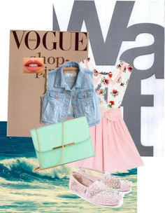 """Summer girl"" by brittney-iii ❤ liked on Polyvore"