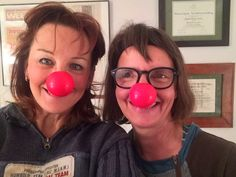 Red Nose Day with pal Samitta
