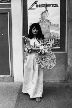 makavejev:  Jagoda Kaloper, Cannes 1971  ph Dušan Makavejev  ljubaznošću leksikonyumitologije