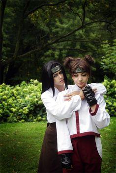 Neji and TenTen - Emmi Light Neji Hyuga Cosplay Photo