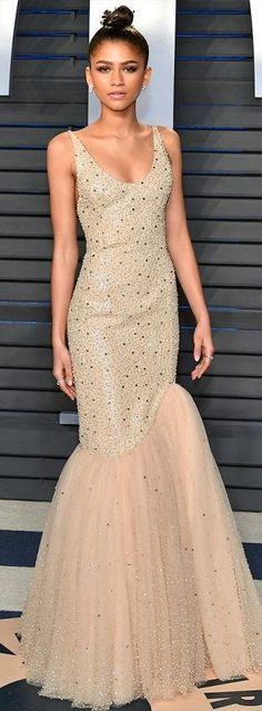 Oscars 2018 Afterparty Dresses and Preparty Dresses - Zendaya in Michael Kors