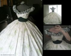 Scarlett O'Hara BBQ Dress - Gone with the Wind I would love to have this :) My favorite dress of all time