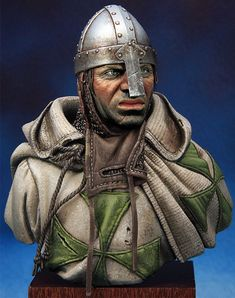 Crusader of St.Lazarus order by Kirill Kanaev · Putty&Paint Sparta Warrior, Thor, Knight Orders, Saint Lazarus, Anglo Saxon History, Crusader Knight, Military Orders, Suit Of Armor, Medieval Times