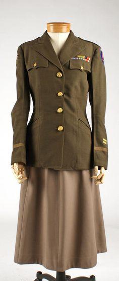 Woman Army Uniform 84