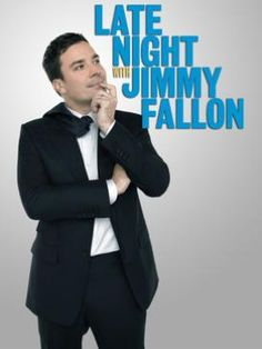 Late Night with Jimmy Fallon. Hashtags, thank you notes, random games, I love his randomness and humility.