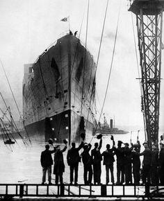 The Titanic, 1912